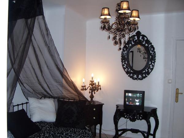 chambre style baroque noir blanc n15