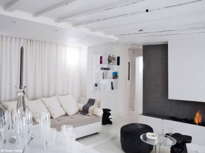 Stunning Salon Blanc Idee Deco Images - lalawgroup.us - lalawgroup.us