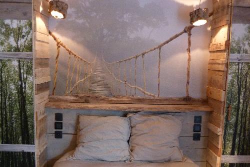 Awesome Chambre Bois Flotte Contemporary - Seiunkel.us - seiunkel.us