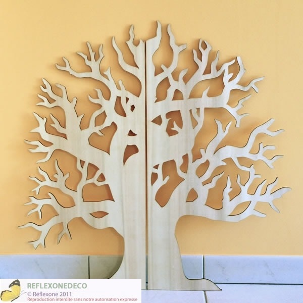 arbre en bois a decorer n15 On arbre decoration
