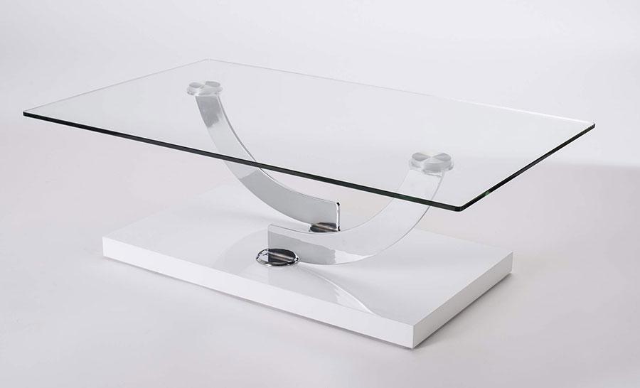 Table basse salon en verre design n15