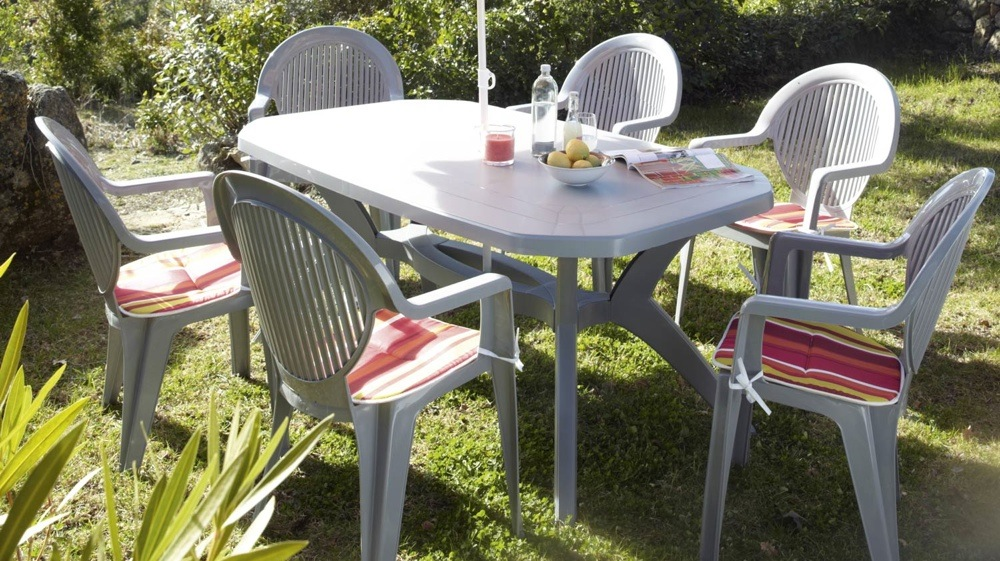 Awesome Table De Jardin Plastique Demontable Pictures - Awesome ...
