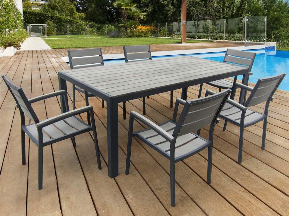 Ordinary Table De Jardin Metal Pas Cher #12: Salon De Jardin ...