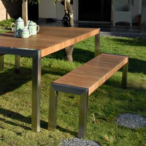 Salon De Jardin Avec Table Coffre. Interesting Canap Duangle Jardin ...