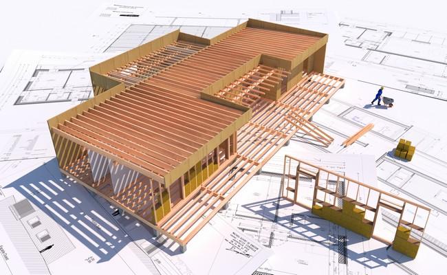 prix construction maison en bois cl en main n15. Black Bedroom Furniture Sets. Home Design Ideas