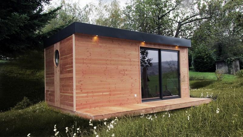 prix petit chalet bois habitable n15. Black Bedroom Furniture Sets. Home Design Ideas