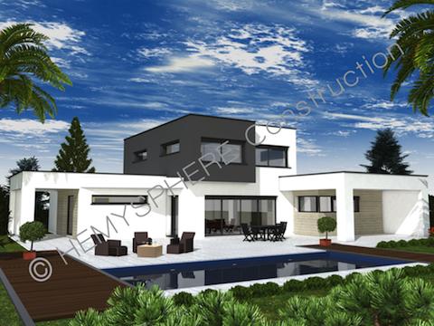 construction maison moderne n15. Black Bedroom Furniture Sets. Home Design Ideas