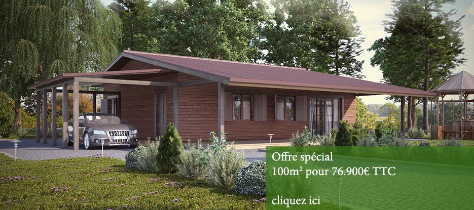 Maison bois prix cle en main n15 for Prix une maison a construire