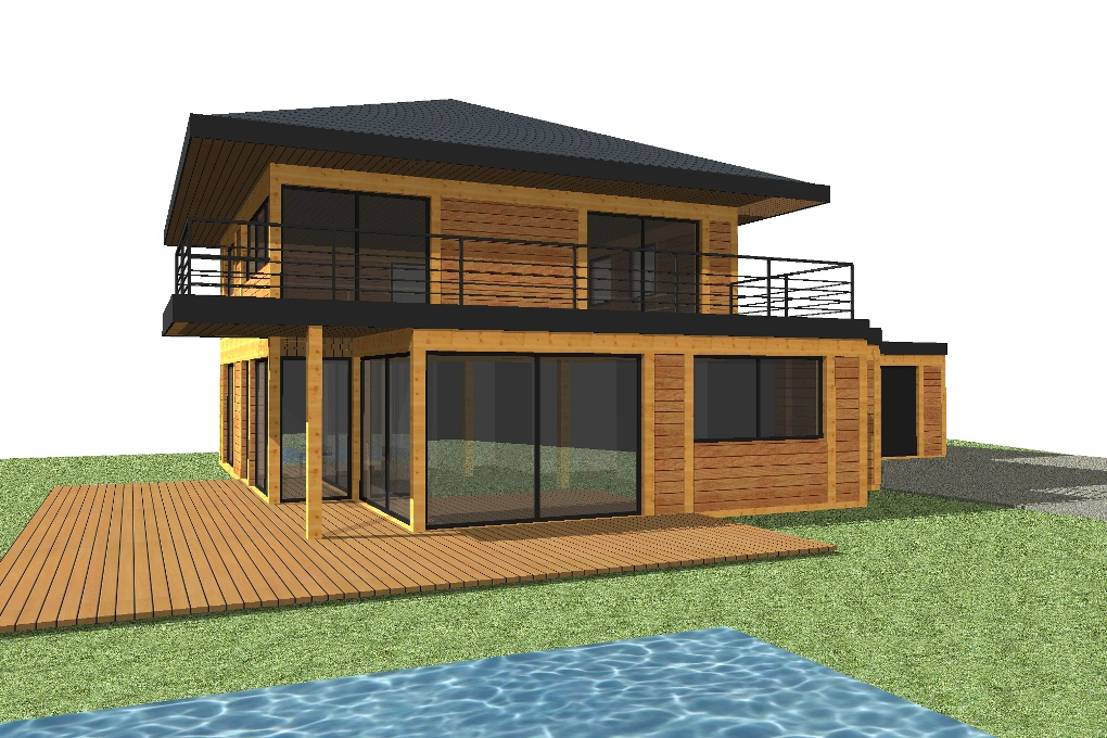 Constructeurs maisons bois segu maison for Constructeur maison bois paca