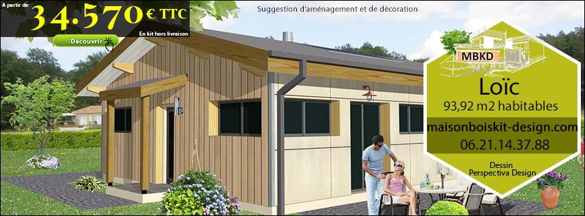 Maison a ossature bois tarif finest dcoration extension for Extension maison yourte