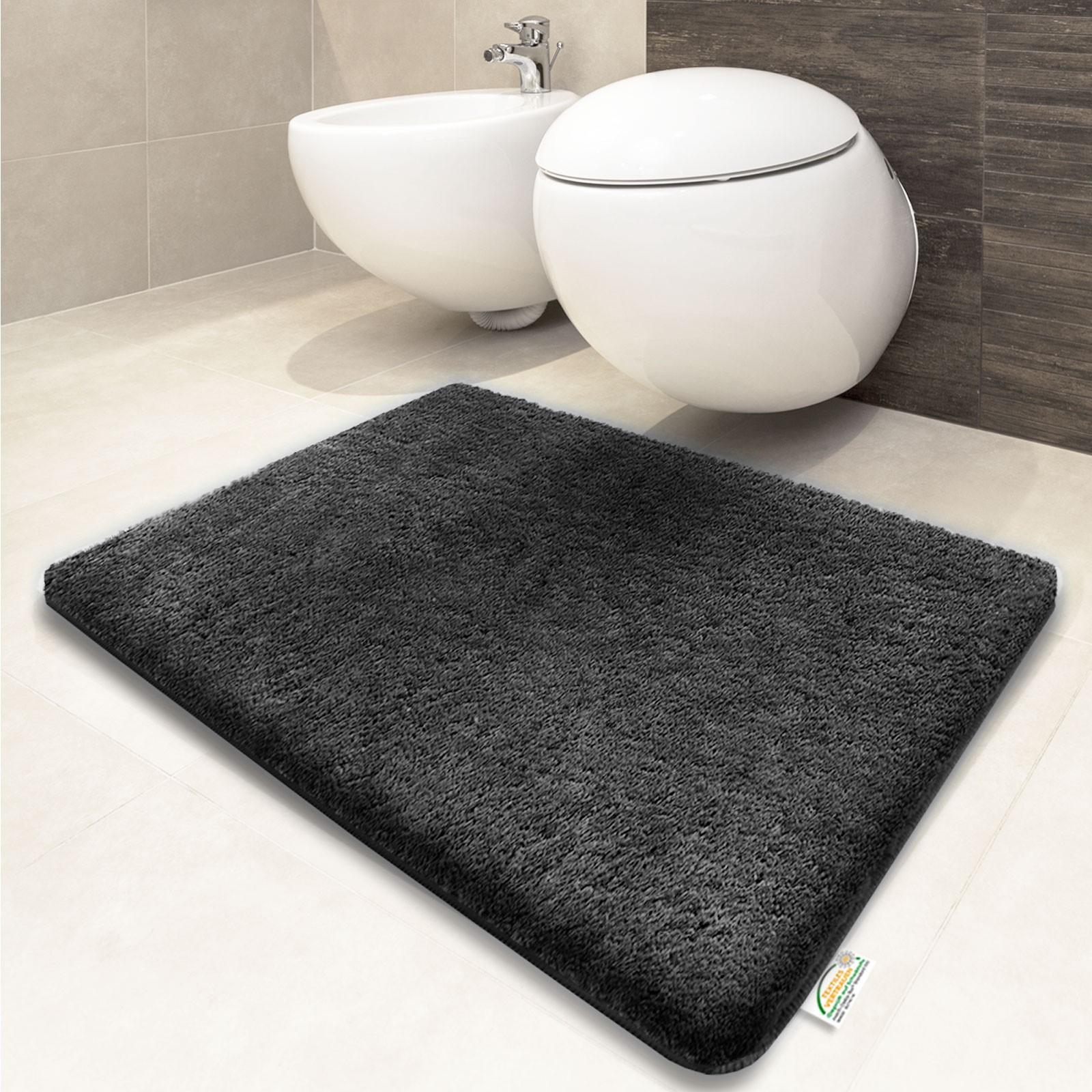 Tapis salle de bain fushia n15