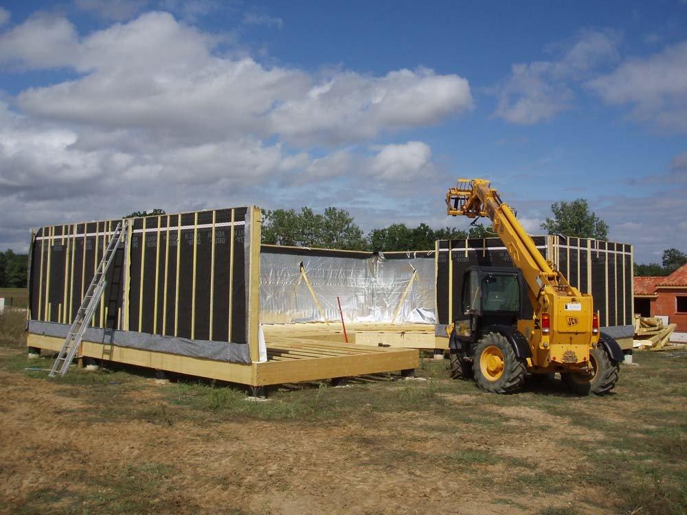 maison bois construction rapide n15. Black Bedroom Furniture Sets. Home Design Ideas